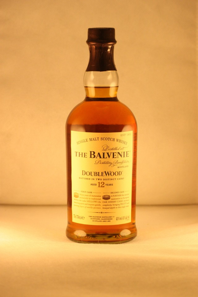The Balvenie Doblewood 12 años.