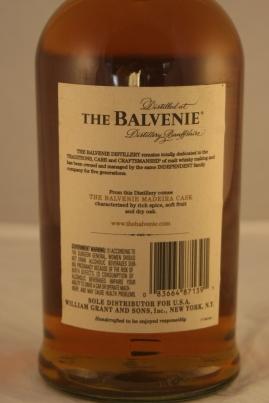The Balvenie – Madeira Cask (Barrica de Madeira) 17 años