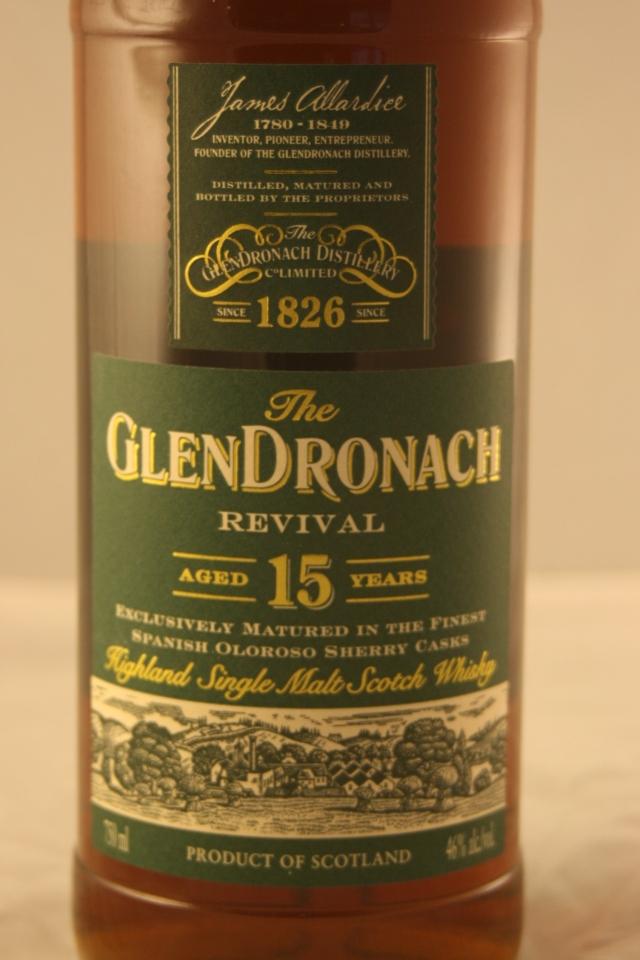 The GlenDronach – Revival , 15 años