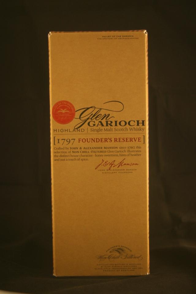 Glen Garioch. (1797 Founder's Reserve)