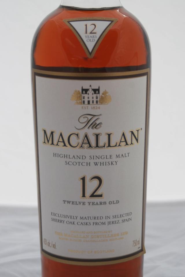 THE MACALLAN Sherry Oak (Roble de Jerez) 12 años