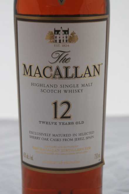 THE MACALLAN Sherry Oak (Roble de Jerez) 12 años