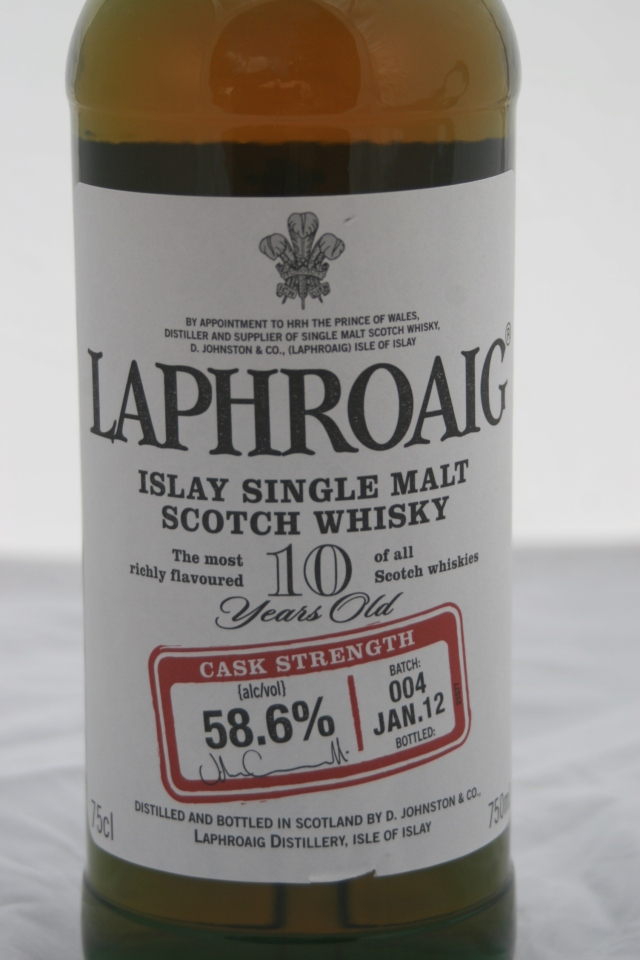 LAPHROAIG CASK STRENGTH 10 años (batch 4)